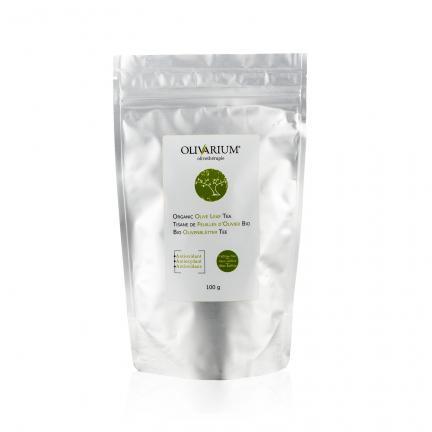 Organic Olive-Leaf Tea - Tisanes de feuilles d'olivier bio - Bio Olivenblättertee