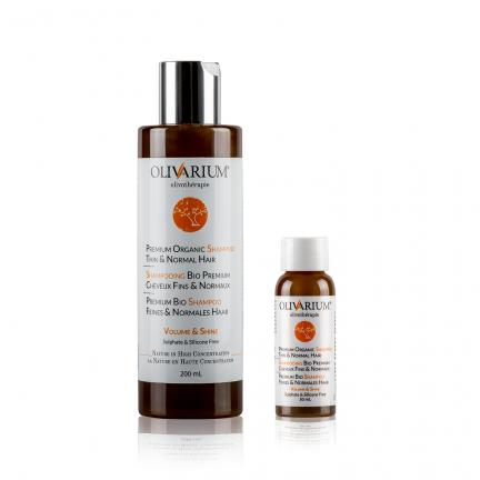 Premium Organic Shampoo Thin & Normal Hair - Shampooing bio premium cheveux fins et normaux - Premium Bio Shampoo feines und normales Haar