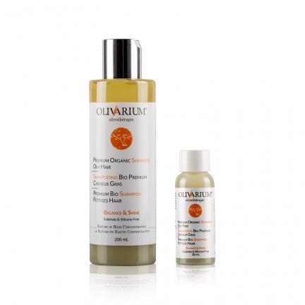 Premium Organic Shampoo Oily Hair - Shampooing bio premium cheveux gras - Premium Bio Shampoo fettiges Haar